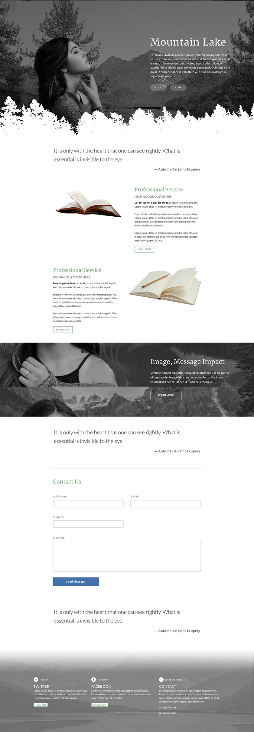 image of web template